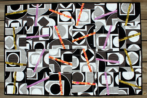 ENTRY - Sticks of Pantone Quilt - Project QUILTING May 2013 Off Season Challenge