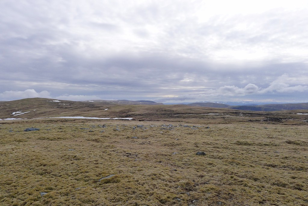 Rolling moorland of the Monadhliath
