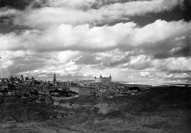 Toledo en 1935. Fotografía Josep Gaspar i Serra © Arxiu Nacional de Catalunya. Signatura ANC1-23-N-1527