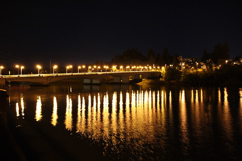 Bridge Lights on Water