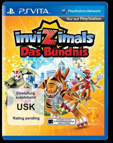 PS Vita Invizimals USK