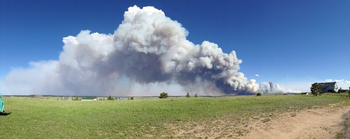 Panoramic view of smoke by Big Mike's Photography