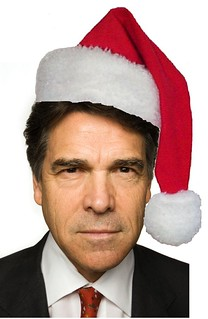 Christmas Defender Rick Perry Tells Women 'Bah Humbug!'