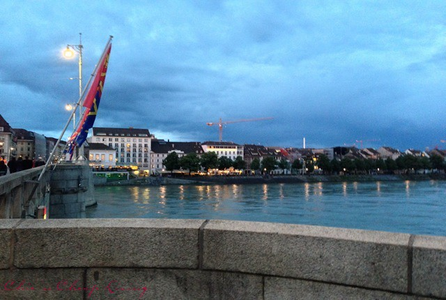 Basel Rhine river by Chic n Cheap Living