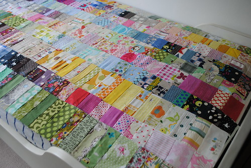 odds & ends quilt top