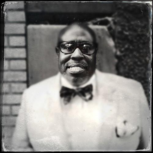 Retrato de Decosta, el hombre del traje smoking (Nueva York)