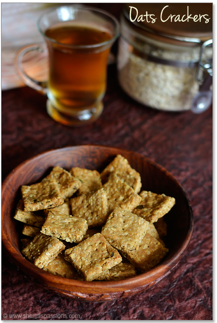 Oats Savoury Crackers
