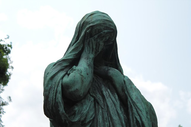 Cimitero di Père LaChaise: statue