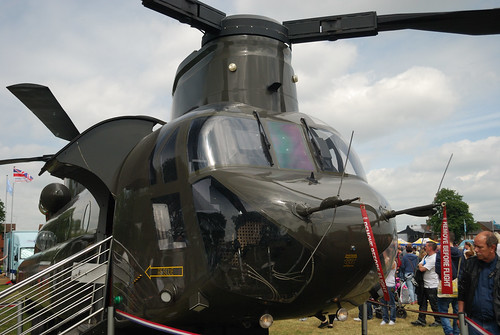 Chinook - Armed Forces Day Nottingham 2013