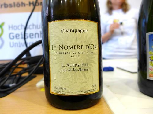 Champagne Aubry Le nombre d'or