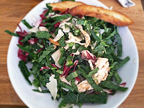 kale salad from brooklyn commune