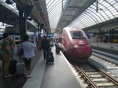 Thalys voor Parijs (Juillet 2013)