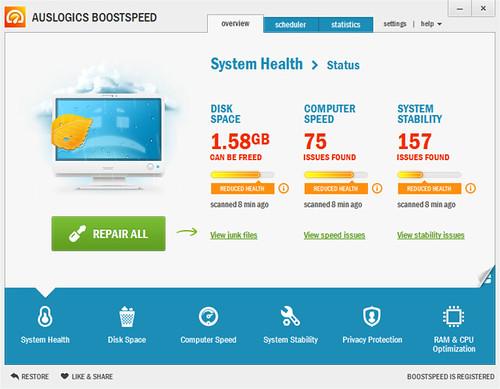 Auslogics BoostSpeed V6.1.0.0