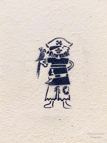 Stencil: Kleiner Pirat