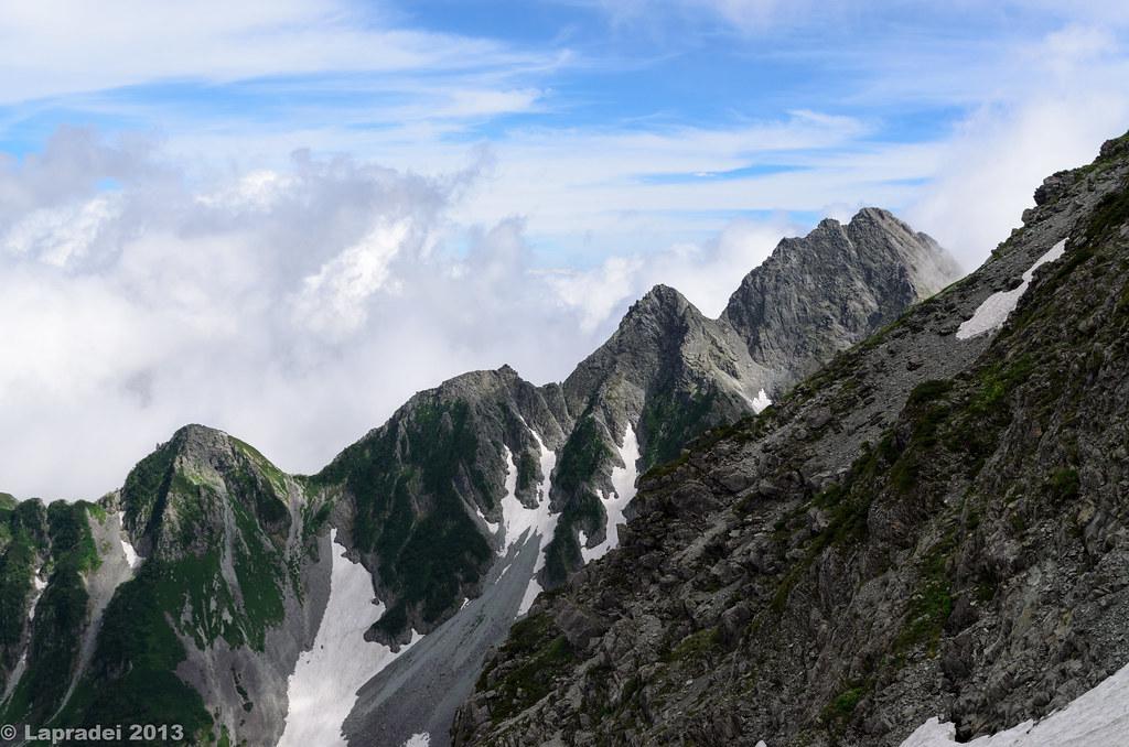 20130803 前穂高岳