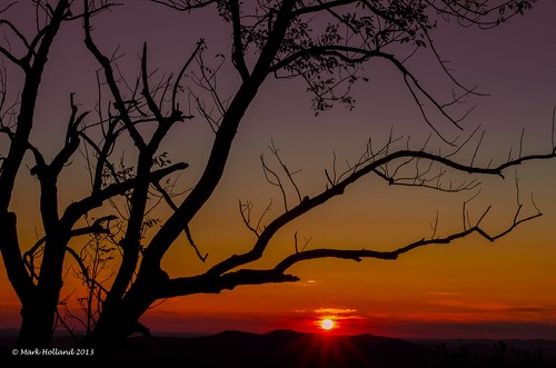 red mountains sunrise landscape dawn virginia nikon country shenandoah