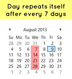 aptitude calendar