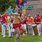 A Samba welcome | Edinburgh Samba School provided some rousing entertainment when our gates opened on Saturday.