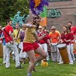 A Samba welcome | Edinburgh Samba School provided some rousing entertainment when our gates opened on Saturday.