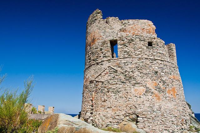 Janovská věž v Erbalunga