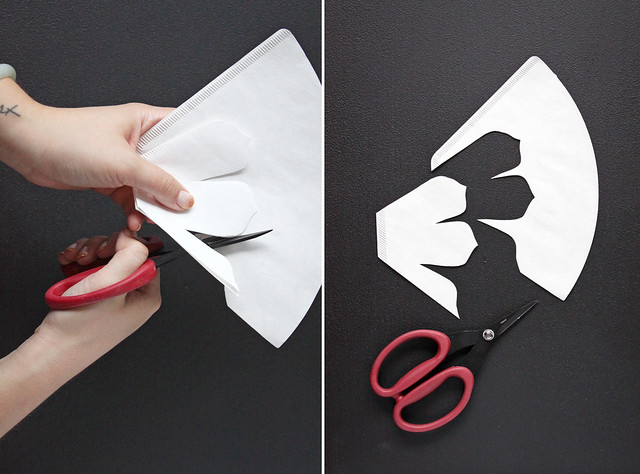 DIY Coffee Filter Flowers