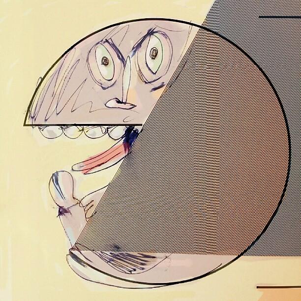 Hyper-realistic Pac-man. By Luis Ricardo