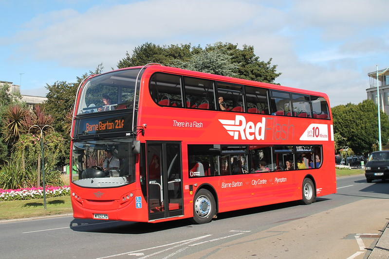 Plymouth Citybus505