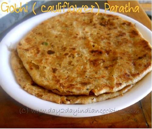 recipe of making gobhi(cauliflower) paratha