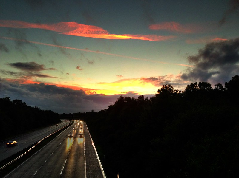 Ripley 'motorway'
