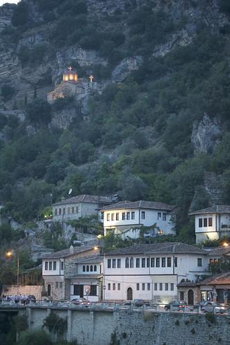 architecture unesco ottoman balkans albania worldheritage berat museumcity osumriver