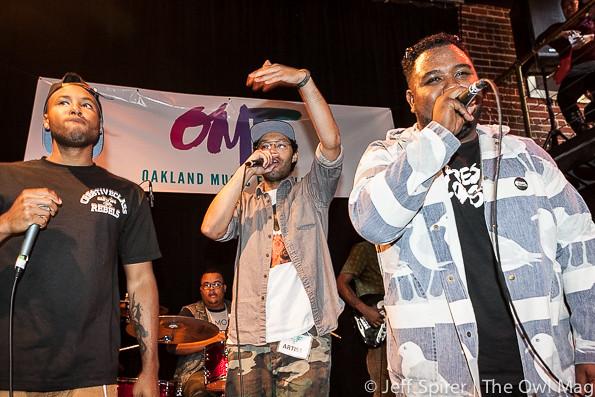 HNRL @ Oakland Music Festival 9/21/13