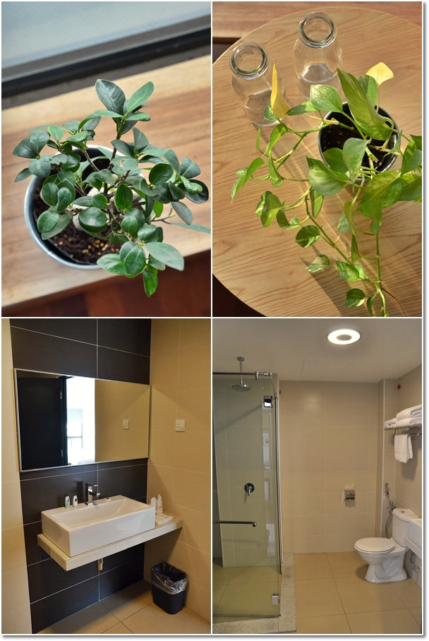 Greens & Washroom