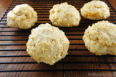 Grain-Free, Low Carb Drop Biscuits (the BEST healthier biscuits!)