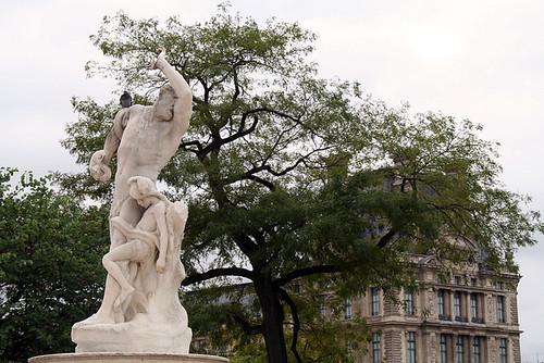 Las Tullerías, antesala del Louvre