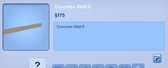 Concrete Wall E