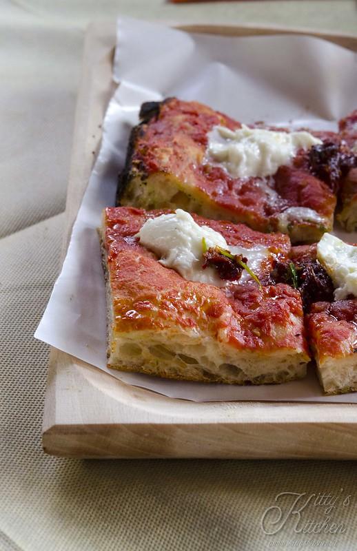 pizza con la 'nduja