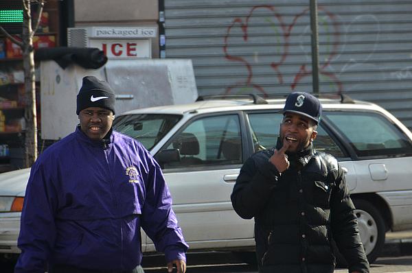 Personajes del Bronx muy peculiares