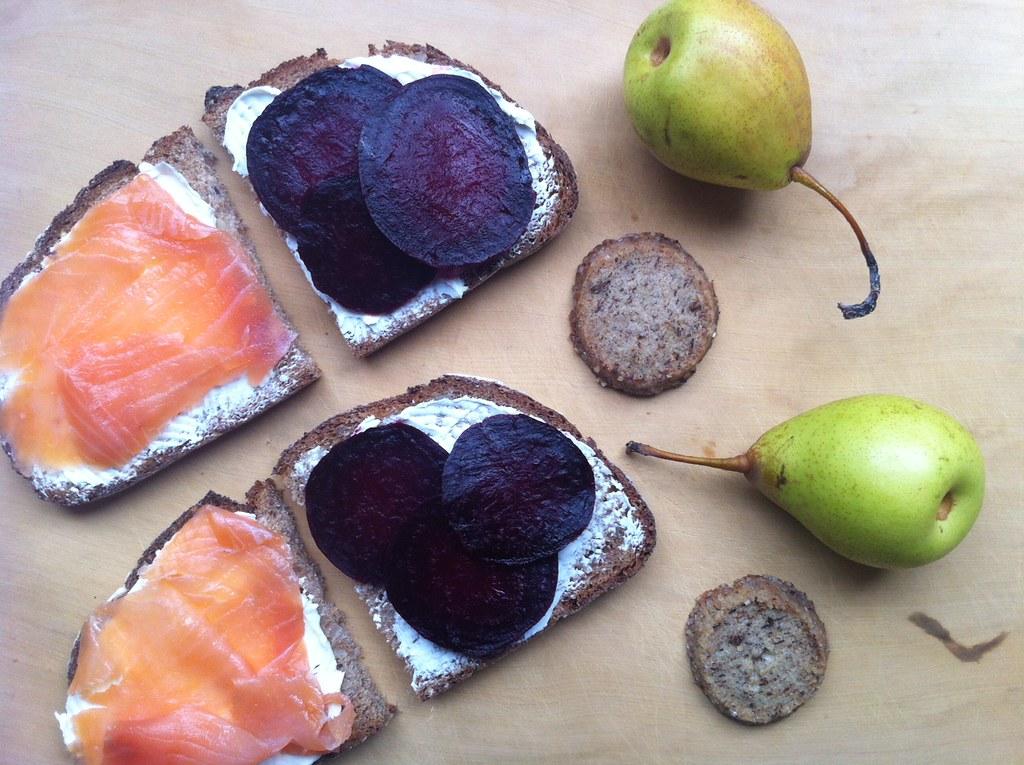 Salmon sandwich from Food52
