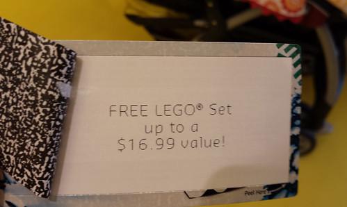 LEGO Store Peel-Off