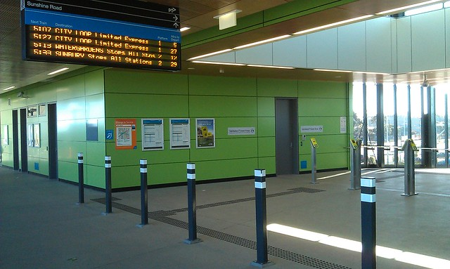 West Footscray station, concourse