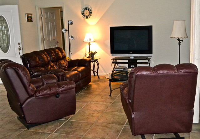 Van Der Valk Golf Resort. Inverness, Florida- living room