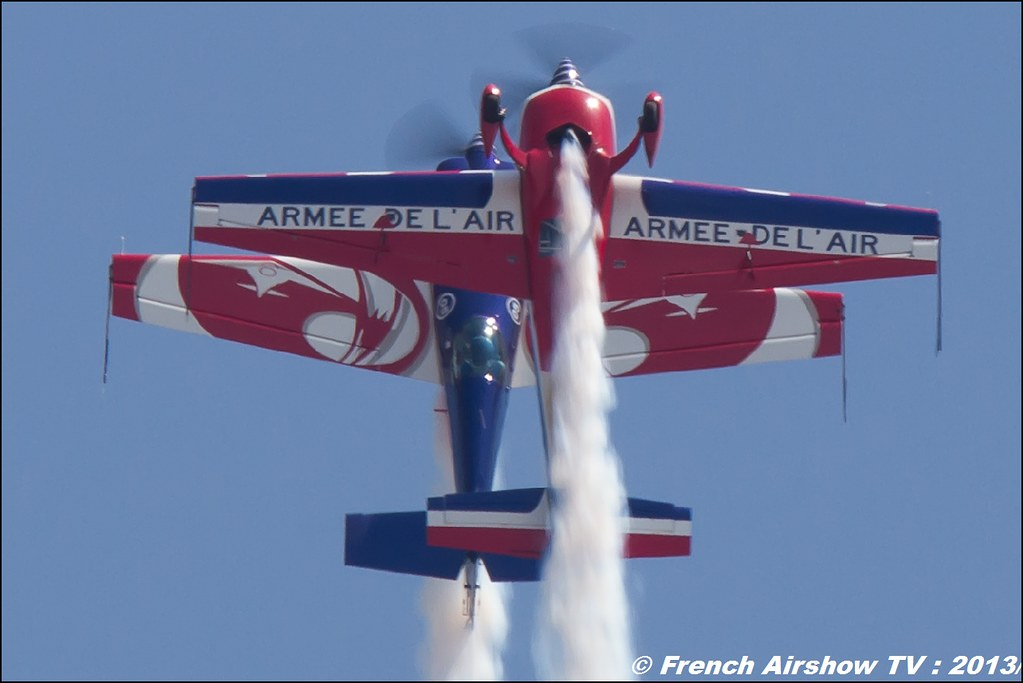 Patrouille EXTRA 330SC EVAA au Free Flight World Masters Valence 2013, Meeting aerien 2013