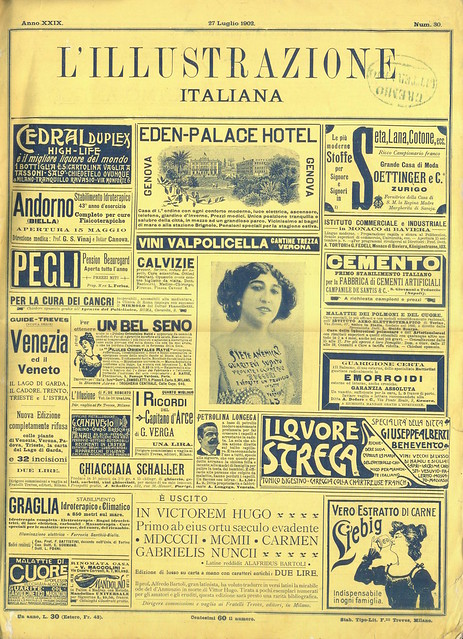 L'Illustrazione Italiana, Nº 30, 27 Julho 1902 - capa