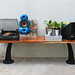 Industrial Vintage Style Bench Used As Console by Like That One