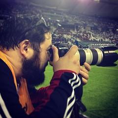 Me #khalifa_stadium #khalifa #stadium #park #psg #paris #paris_saint_germaint #real #real_madrid#halamadrid #rma#football #friendly #qatar #doha #photographer#canon#raining#stade #ibra #cr7