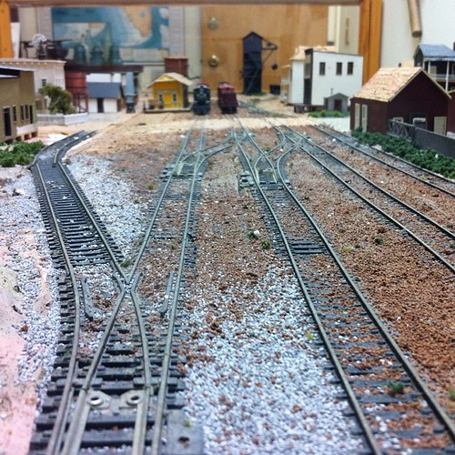 FEC railroad in a diorama of downtown Ft. Pierce, FL. at St. Lucie County Historical Museum. #betweenriverlagoon #artresidency