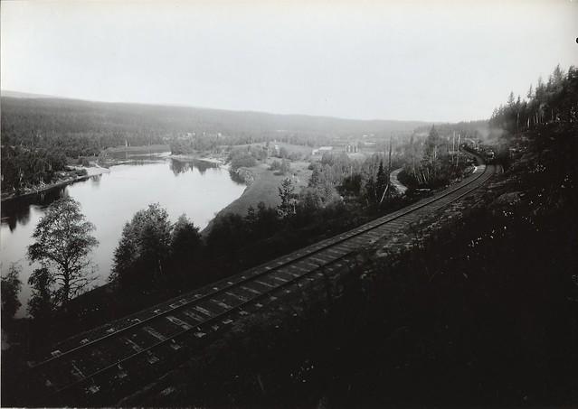 Godståg vid Osandsberget