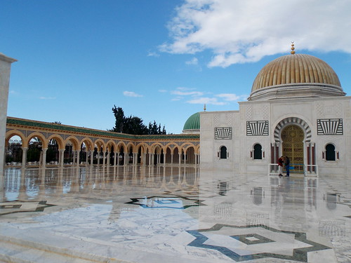 Habib Bourguiba Mausoleum in Monastir, Tunisia - December 2013