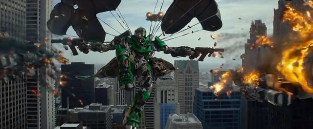 Transformers-parachute