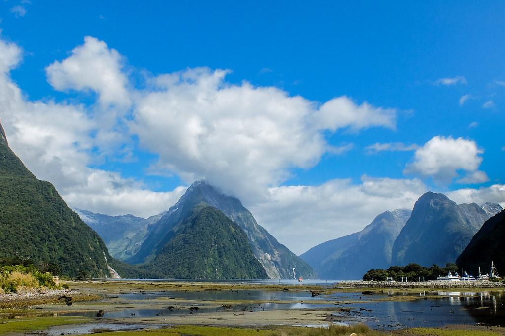 Weg naar Milford Sound